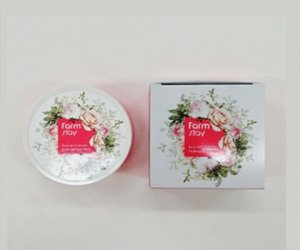 Farm Stay Rose & Ceramide Hydrogel Eye Patch Гидрогелевые патчи с экстрактом розы 60шт (90гр)