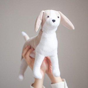 Мягкая игрушка «Плюшевая собачка Чаффи», набор для шитья, 18,5 ? 22,8 ? 2,5 см