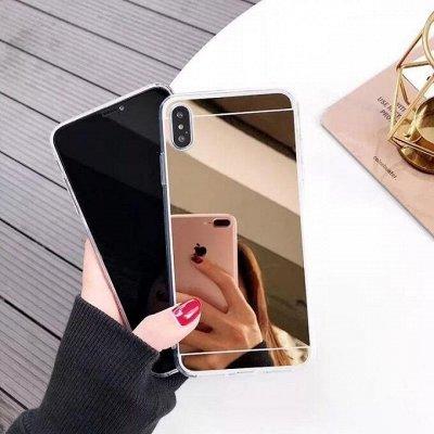 Чехлы, стекла на все телефоны. В наличии! Новый приход — Чехлы Силиконовые зеркальные и голограммы. См. видео