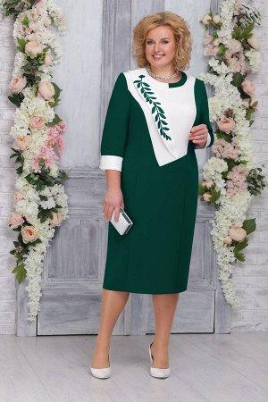 Платье Ninele 2224 изумруд