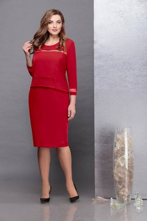 Платье Надин-Н 1732/2 красный