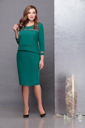 Платье Надин-Н 1732/1 зеленый