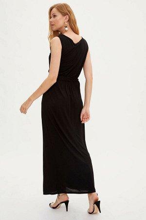 Платье легкое черное