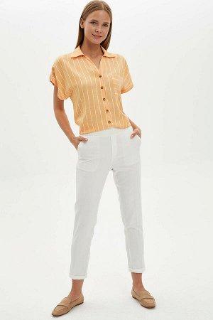 Рубашка Размеры модели: рост: 1,77 грудь: 85 талия: 61 бедра: 90 Надет размер: S Вискоз 100%