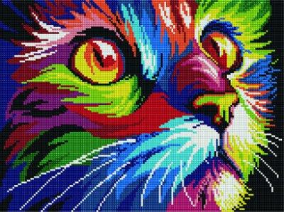 Планета картин: красота своими руками-14 — Алмазная мозаика 30*40 квадратные стразы — Мозаики и фреска