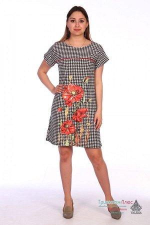 Платье женское VL-41 Маки