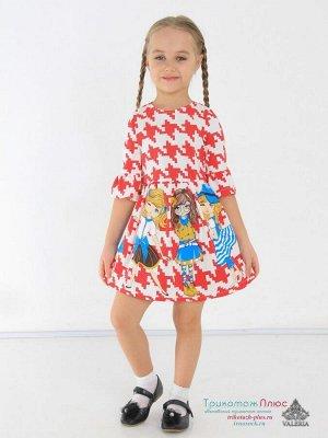 Платье детское Венди (интерлок)