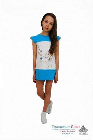 Платье детское Хлоя (интерлок)