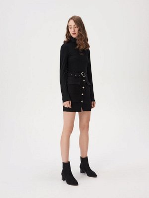 Юбка мини с карманами