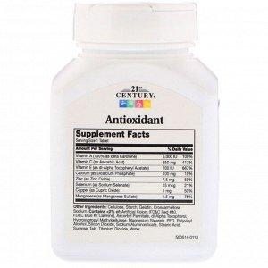 21st Century, Антиоксидант, 75 таблеток