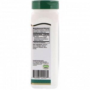 21st Century, Экстракт расторопши пятнистой, стандартизированный, 200 растительных капсул