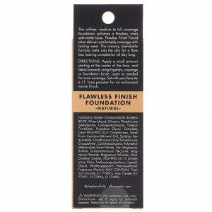 E.L.F., Flawless Finish Foundation, не содержит масла, натуральный продукт, 20 мл (0,68 жидкой унции)