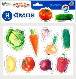 Игра магнитная развивающая. Магнитные истории Овощи (европодвес, 4х20шт)33