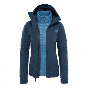 Куртка The North Face W THERMOBALL TRI JKT INK BLUE