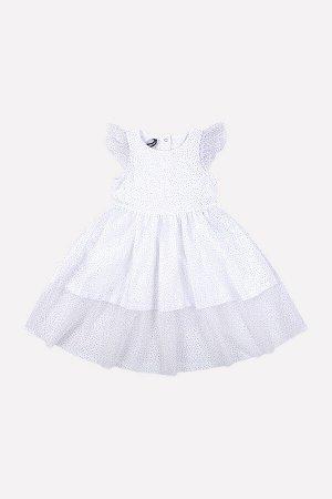5528/1 Платье/белый
