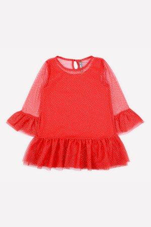 5578 платье/насыщенно-красный