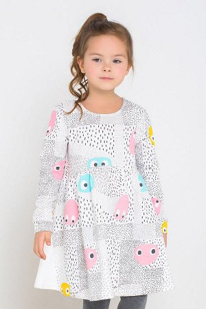 Платье(Осень-Зима)+girls (смайлики на сахаре к227)