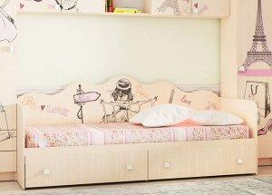 """Кровать для детской КР-24 """"Париж"""""""