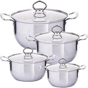 29352 Набор посуды 8пр 1,2+1,6+2,2+3 л MB (х12)