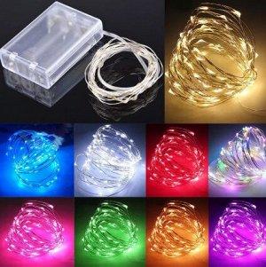 LED проволка на батарейках