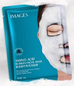Пенящаяся тканевая маска Images