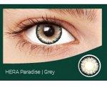 Перекрывающие цветные контактные линзы HERA PARADISE Gray -3.0 ВС 8.6 (2 линзы)