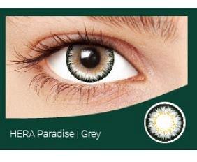 Перекрывающие цветные контактные линзы HERA PARADISE Gray -1.0 ВС 8.6 (2 линзы)