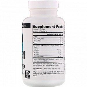 Source Naturals, Генистеин, соевый комплекс, 1000 мг, 120 таблеток