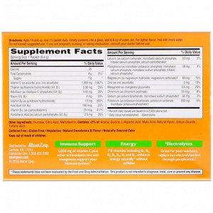 Emergen-C, Витамин С, смесь для газированных напитков со вкусом лимона и лайма, 1000 мг, 30 пакетиков весом 9,4 г (0,33 унции) каждый