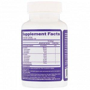 Advanced Orthomolecular Research AOR, Total E, комплекс витаминов группы Е, 60 мягких таблеток