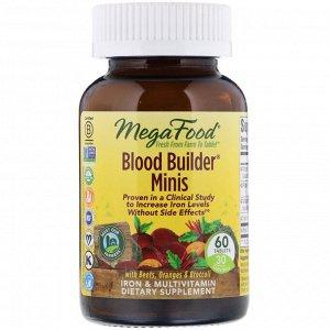 MegaFood, Blood Builder, 60 мини-таблеток