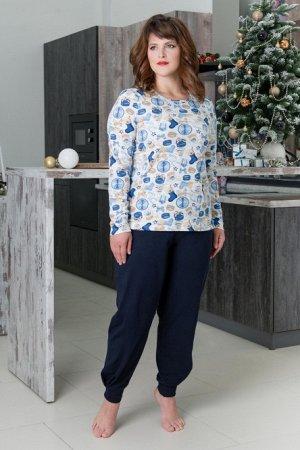 Костюм (блуза+брюки), арт. 0748-16