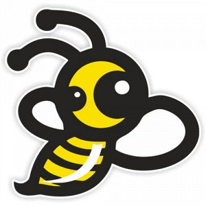 Наклейка Пчелка