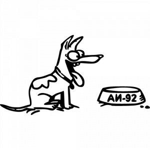 Собака и миска  5