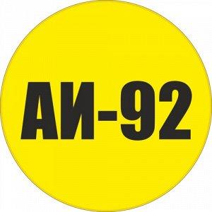 Наклейка АИ-92
