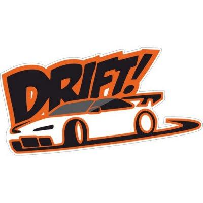 🌟Яркие интерьерные наклейки! Наклейки на Авто! - 46🌟 — На АВТО. DRIFT — Аксессуары