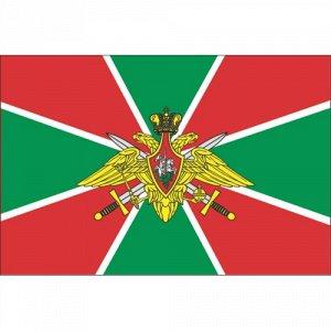 Наклейка Флаг пограничных войск