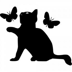 Котенок на выключатель/розетку