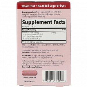 Nature&#x27 - s Way, CranRx, Urinary Health, Bioactive Cranberry, 500 mg, 30 Vegetarian Capsules