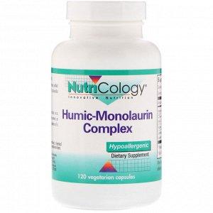Nutricology, Гуминовый монолаурин, 120 вегетарианских капсул