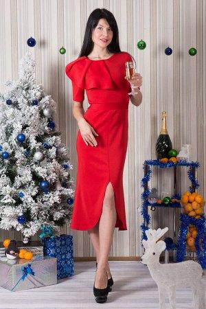 Платье П 480 (красный)