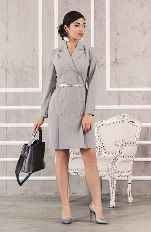платье-пиджак в деловом стиле