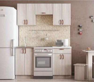Мебель для детской ФЬЮЖН. Светлая, свежая, современная — Модульная мебель для кухни — Кухня