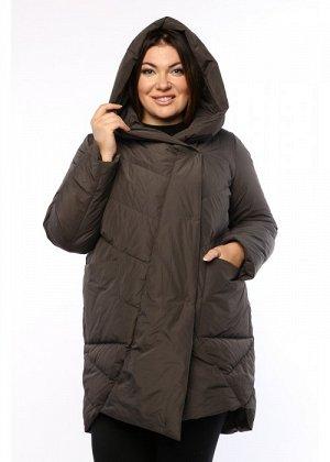 Женское пальто, А 211, Серый