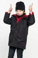 Куртка-парка с пристежкой для мальчика
