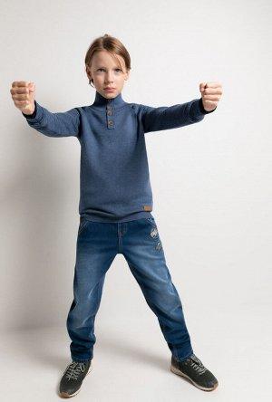 Утеплённые джинсы на 146-152