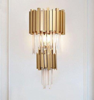 💡Стильные люстры💡Новинка, садовые светильники от 135р  — CRYSTAL бра — Бра
