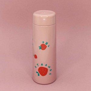 """Термос """"Strawberry"""", pink (330ml)"""