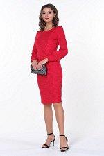 Платье Марьяна №4.Цвет:красный