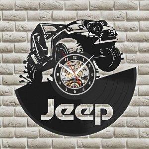Jeep Размер 30*30 см  Внимание!!! Фактический размер стрелок отличается от представленного в эскизах (в реале они длиннее). На эскизах стрелки уменьшены для лучшей визуализации изображения. Смотрите ф